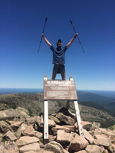 Sean AT NOBO Completion Mt. Katahdin, Maine