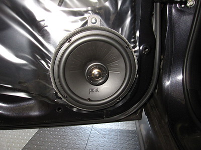 2011 Subaru Impreza WRX STI sedan Front And Rear Door Speaker Installation - USA