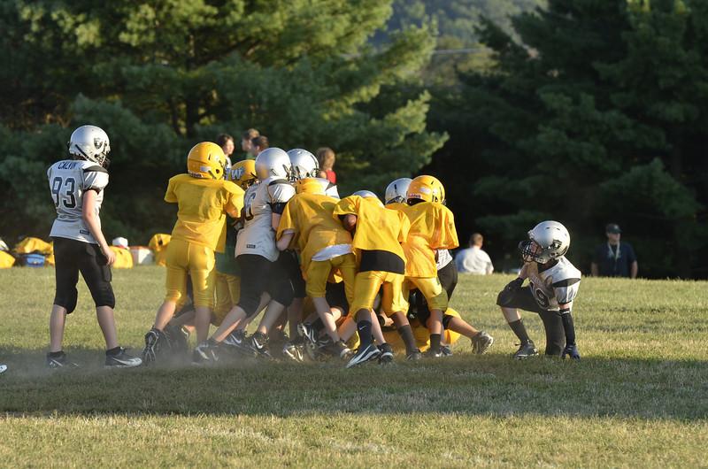 Wildcats vs Raiders Scrimmage 158.JPG
