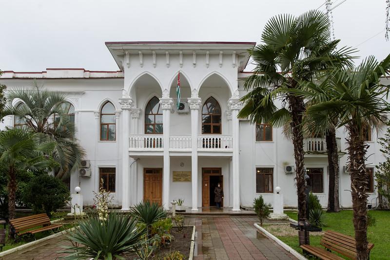 Sokhum's new buildings