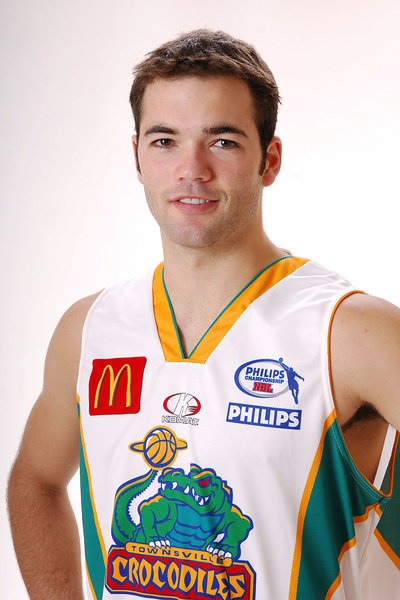 27 JUL 2006 - Drew Williamson #6 (Guard, 195cm, 86kg) - Away playing strip - Townsville McDonald's Crocodiles players/staff photos - PHOTO: CAMERON LAIRD (Ph: 0418 238811)