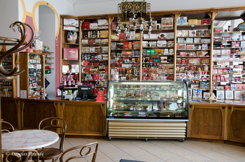 Bratislava chocolate shop & cafe