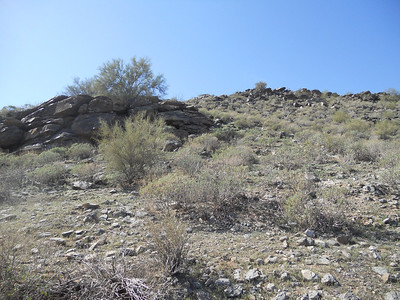 Wandering Around at the Pima Canyon of the South Mountain Park
