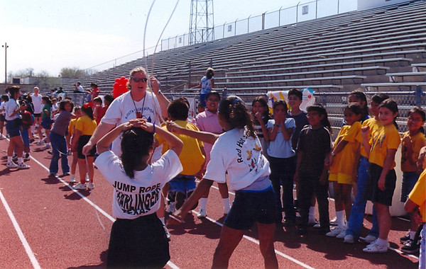 February 2000 Academic Team HHSS and Jump Rope for Heart