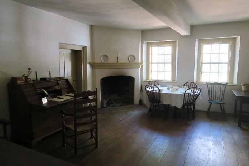 "Salem Tavern (ca. 1784) -- ""Gentleman's Room"""