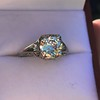 1.88ctw Platinum Filigree Solitaire Ring by C.D. Peacock, GIA S-T, VS 38