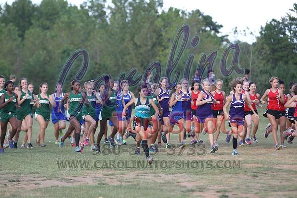 2016 Gaston County Meet - Girls - 9/20/16