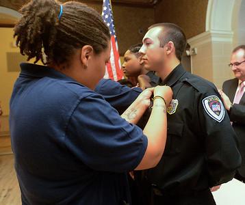 Trenton Police Explorers graduation