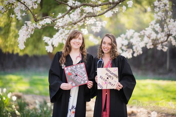 Ashley and Erin's graduation