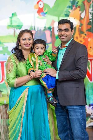 Jashvin 1st Birthday