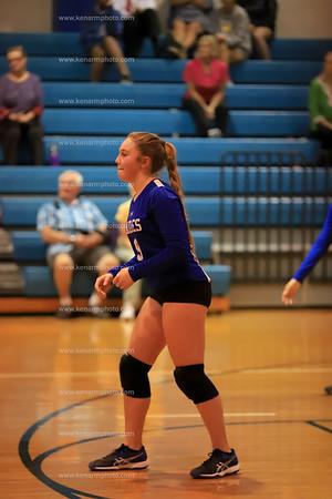 East Bladen 19 Whiteville volleyball
