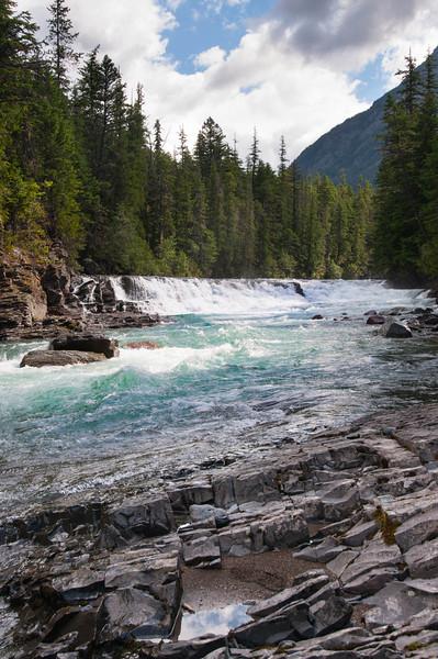 Glacier Runoff - Glacier National Park, MT, USA