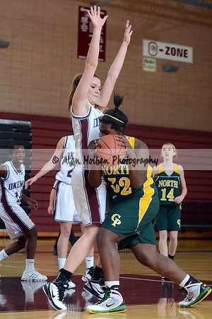 Girls Varsity Basketball - Grosse Pte North at Okemos - Dec 6
