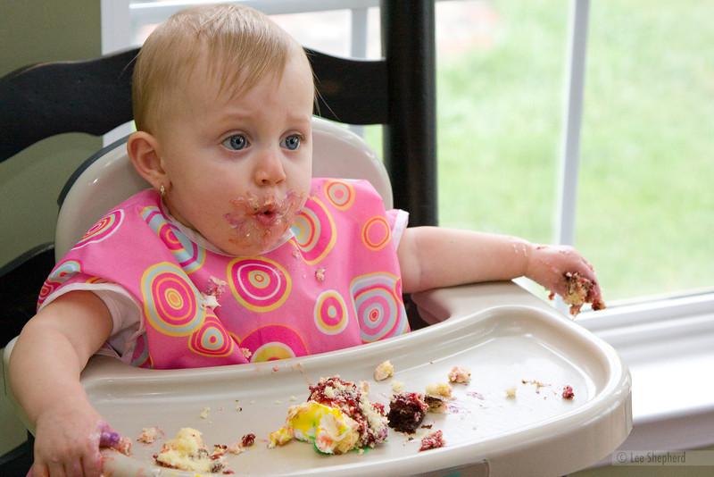 sugar right?  there's sugar in cake?