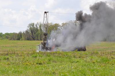 Drilling Machine Fire 5-1-14