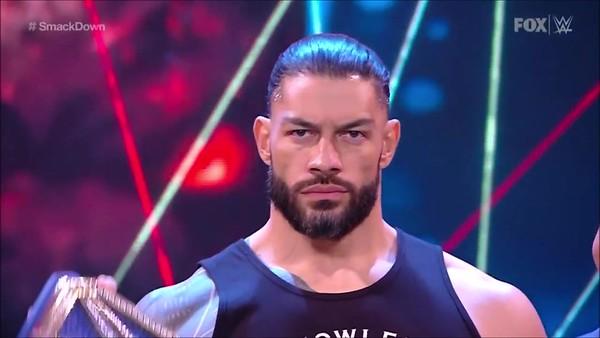 Roman Reigns - Screencaps / Smackdown April 9, 2021