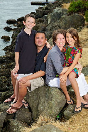Johnson Family Photo Session Alki Beach