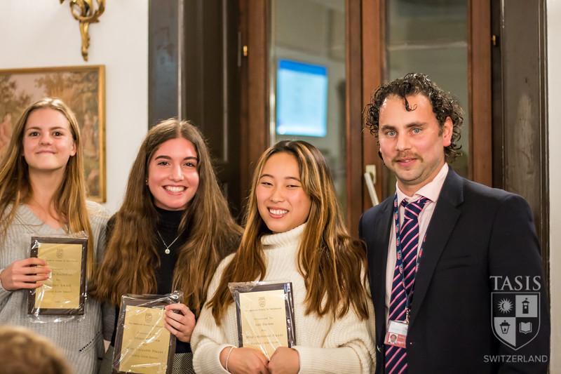 Girls Soccer Award Winners