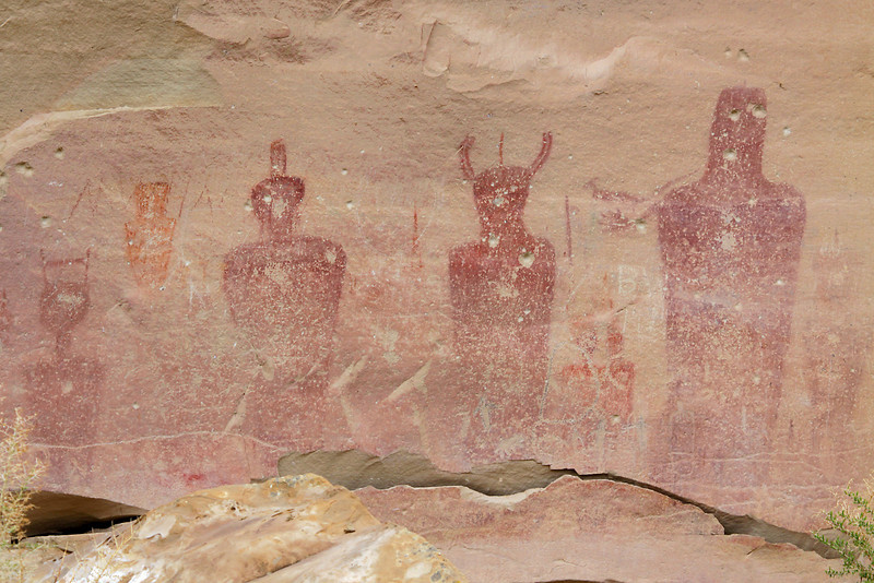 Native art, Thomson Canyon, Utah.