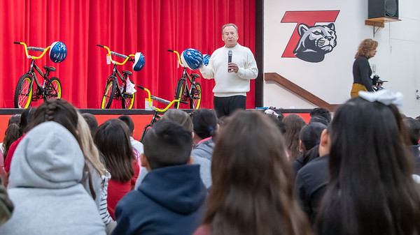 Thorman 3rd Grade Bike Give-A-Way