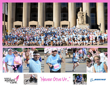 2008 Komen Race for the Cure 11x14 photo