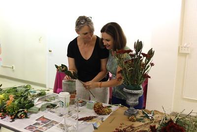 October 2017 Flower Design Workshop