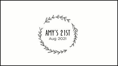 31.07 Amys 21st