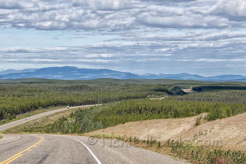 Alaska Highway - NW of Upper Liard