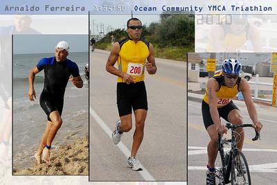 2010 Triathlon Collage
