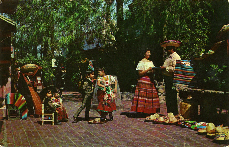 Olvera Street People