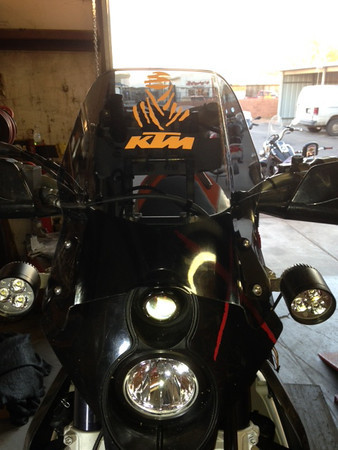 KTM 690eR Adventure Build