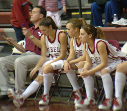 SNHS Girls Basketball vs Rensselaer 2004