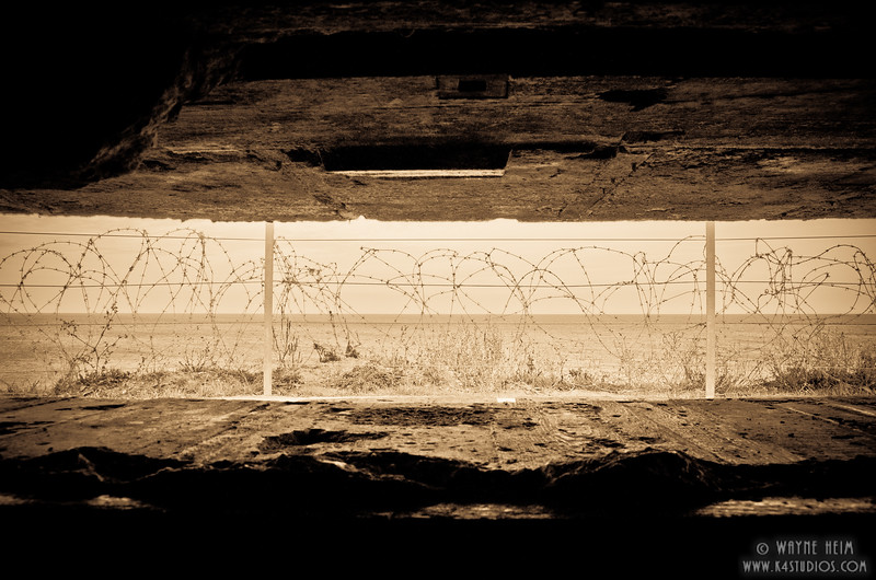 German Bunker 21   Photography by Wayne Heim