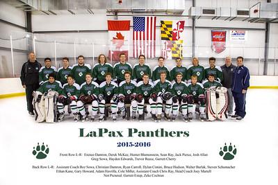 LaPax Ice Hockey Team 2015-2016