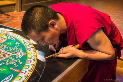 tibetan mandala ceremony