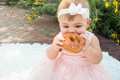 HARPER TURNS 1 YEAR OLD! | Donut smash