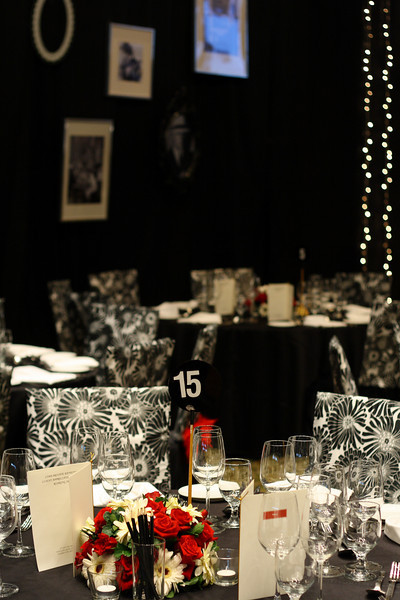 Traders Hotel - Ballroom Roaring 20s Setup