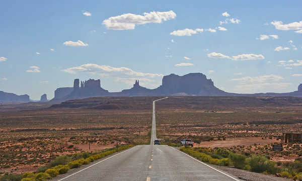 Monument Valley and Hunts Mesa