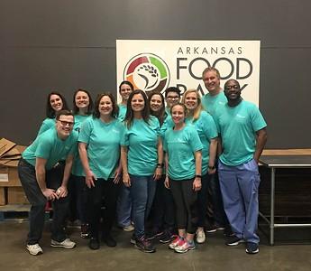 Arkansas Food Bank Volunteer Days (April 2019)