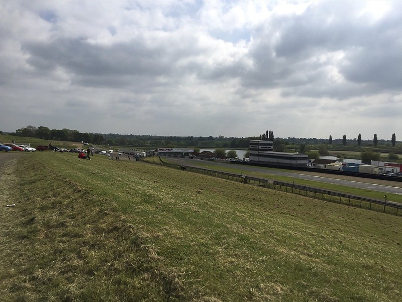 Our first view of Mallory Park.
