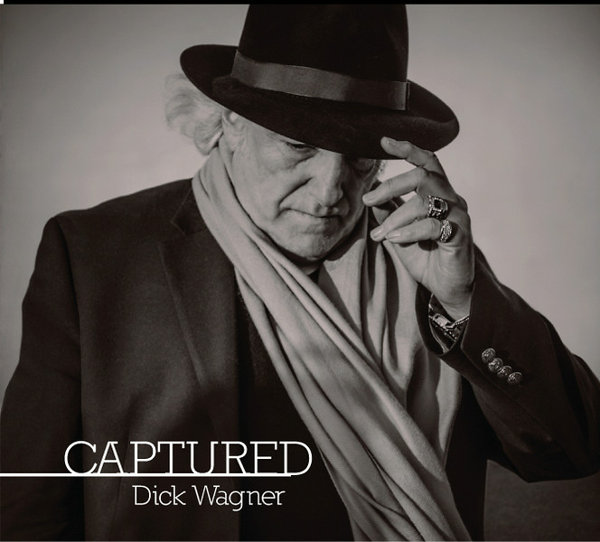 ". Dick Wagner\'s 2014 solo CD ""Captured,\"" photo by Rick Lieder"