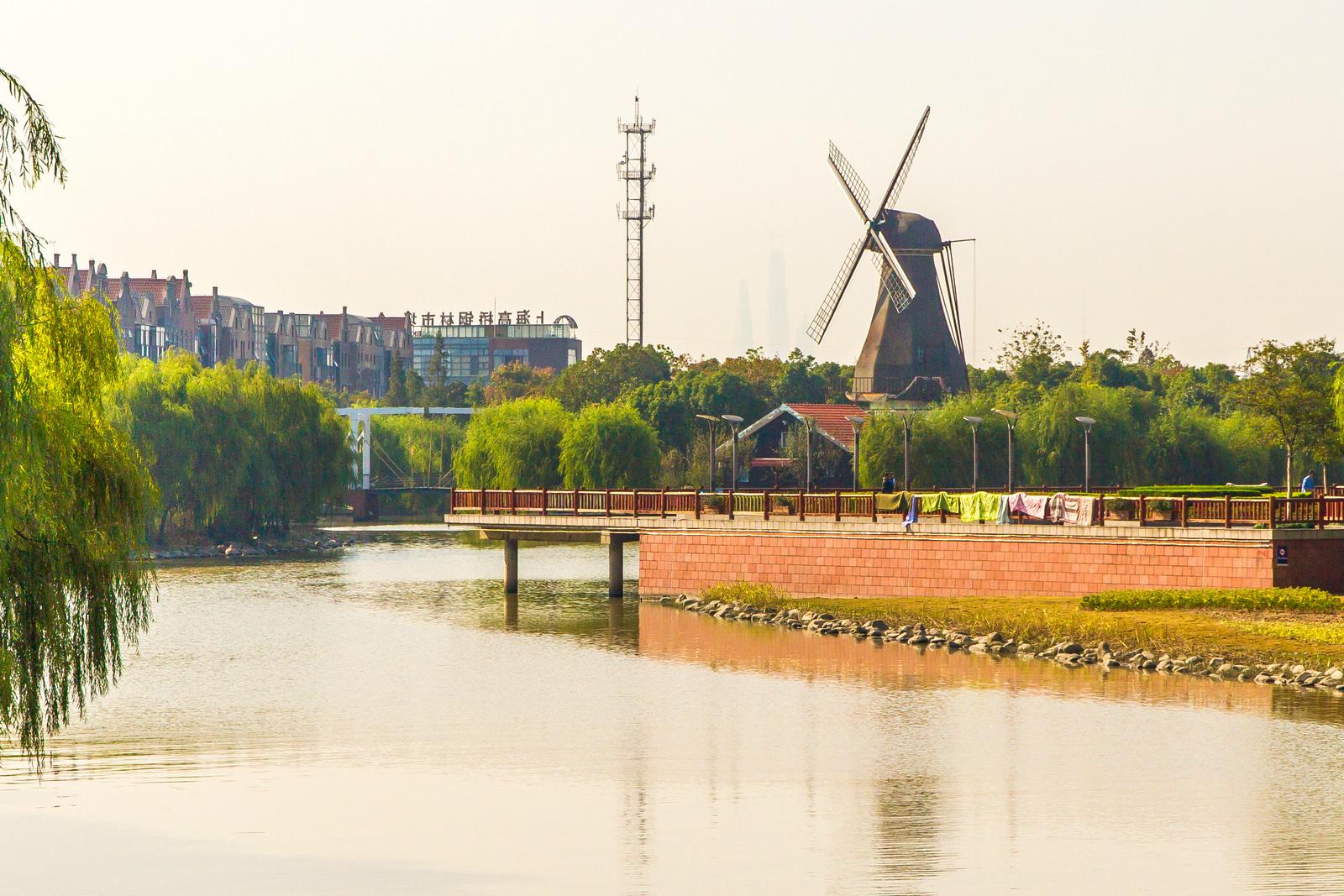 上海荷兰新城,看看有什么荷兰元素