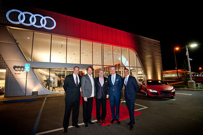 Audi Pacific Grand Opening event November 27th 2012