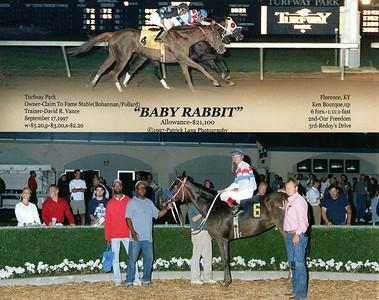 BABY RABBIT - 9/17/1997
