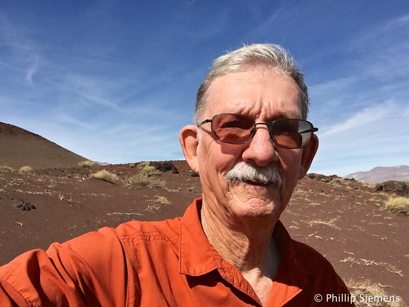 Selfie at Red Hill cinder cone