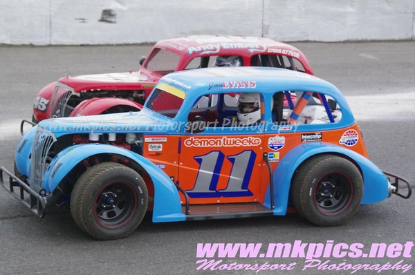 Oval Track Legends, Northampton, 1 April 2013