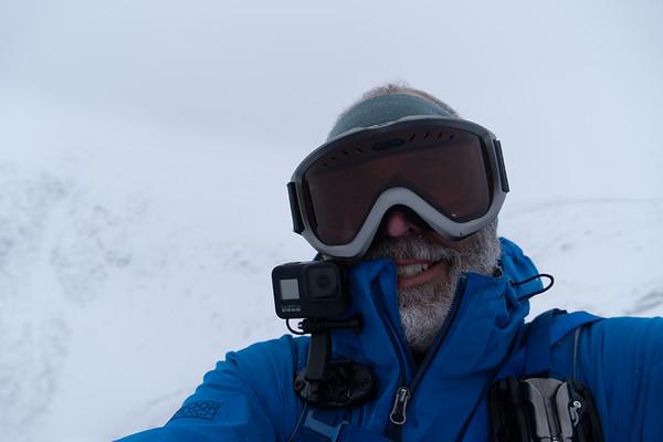 2020 January Mt Washington hike up Lion's head