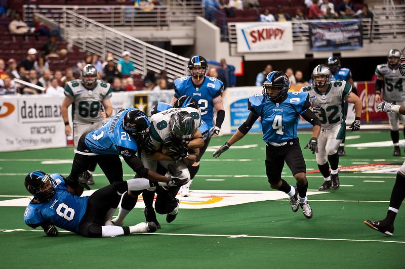 Sports-Football-Arkansas Twisters vs Bozier City 032809-44