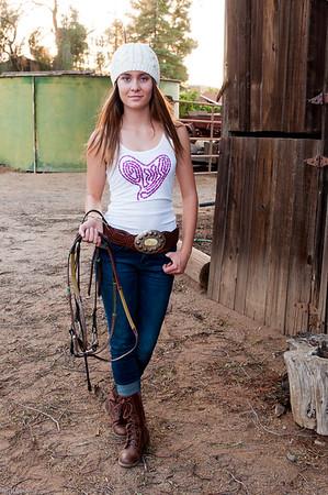 Dude Girl - Pinto Ranch Shoot