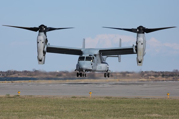 "US Marine Corps MV-22B ""Osprey"", Norfolk, 14Mar18"